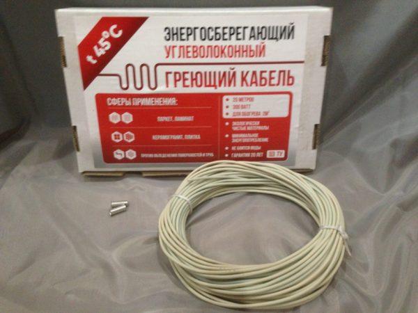 нагревательныйкарбоновый кабель